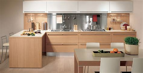 Timber Kitchen Designs Light Oak Wooden Kitchen Designs Digsdigs