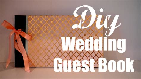 diy wedding guest book