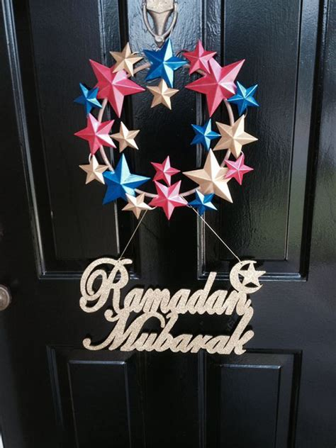 islamic decorations for home 20 awesome wreath doors for eid and ramadan home design