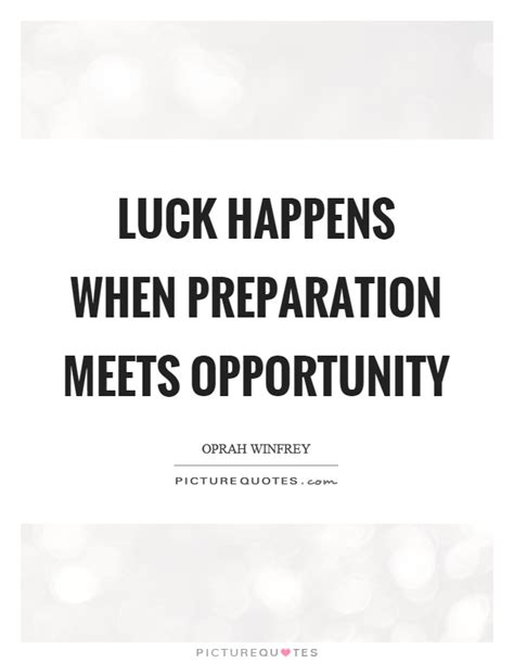 when perseverance meets opportunity a single to the adoughbles entrepreneur books luck happens when preparation meets opportunity picture