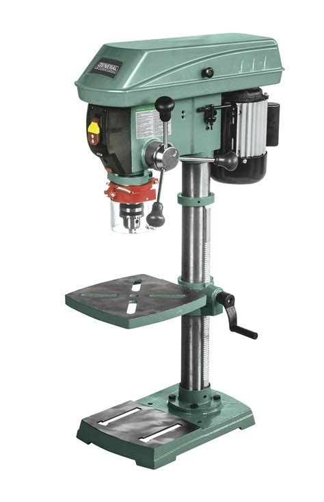 variable speed bench drill press general international 12 quot bench top commercial variable speed drill press 75 010m1