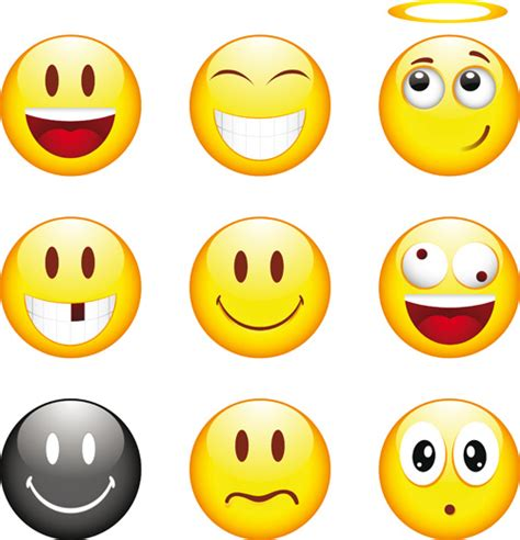 ppt templates free download smile funny smile emoticons vector icon free vector in