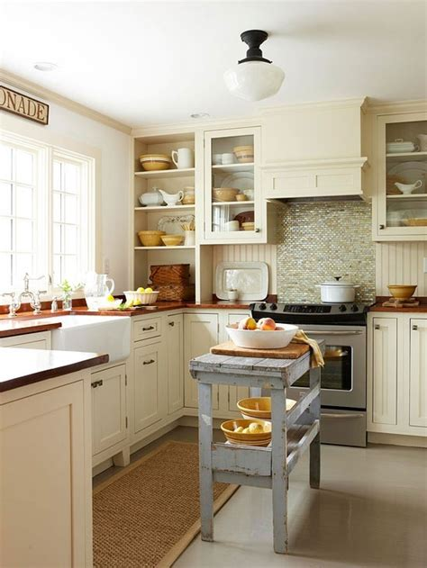 small vintage kitchen ideas 32 brilliant hacks to make a small kitchen look bigger