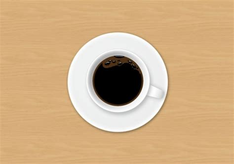 top of coffee cup coffee cup top view psd file free download