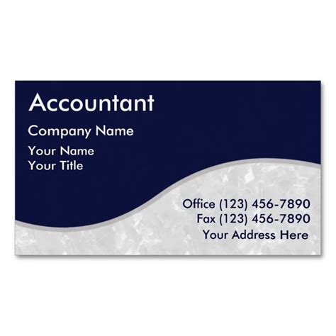 accountant business cards templates 1000 images about accountant business cards on