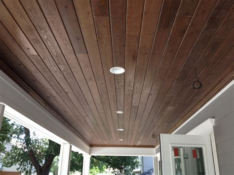 tongue and groove ceiling gloger construction