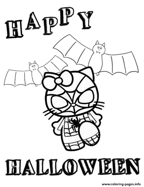 spiderman minion coloring page hello kitty in spiderman costume halloween coloring pages