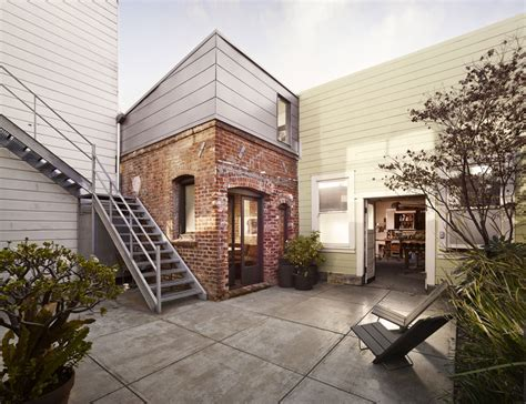 tiny guest house tiny industrial style guest house conversion modern