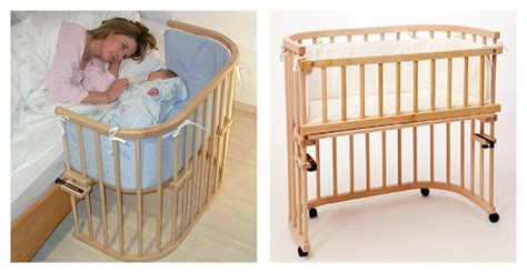 immagini di culle co sleeping bonding e bedside cots o culle da affiancare
