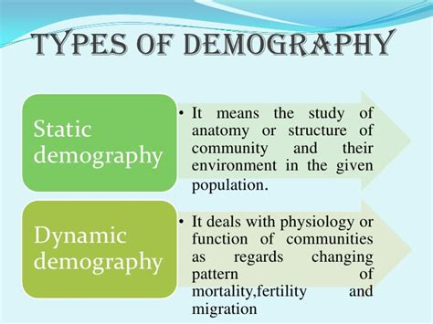 pattern advertising definition demography