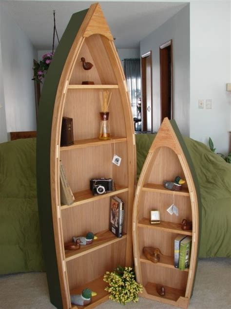 row boat shaped bookcase wood work row boat shaped bookcase pdf plans