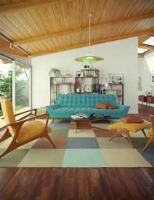 Mid Century 79 Stylish Mid Century Living Room Design Ideas Digsdigs