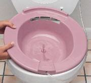 sitz bath fistula support