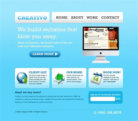 tutorial about website design 20 high quality photoshop web design tutorials web