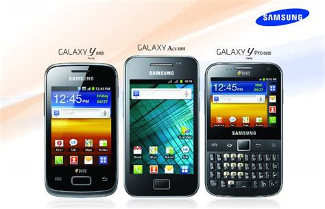 new samsung dual sim mobile samsung announces three dual sim smartphones