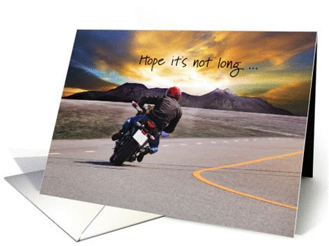 Get Well After Motorcycle Accident card (1315756)