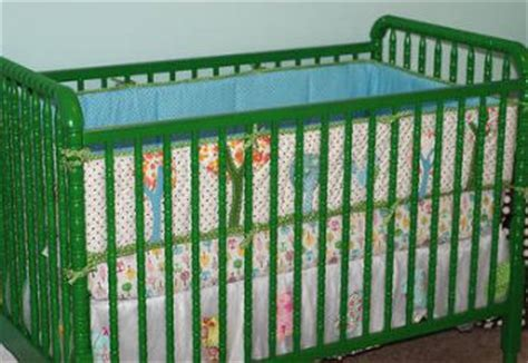 Green Baby Cribs Lind Baby Cribs In Bold Living Color