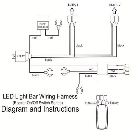 3 wire led light bar wiring diagram wiring diagram manual