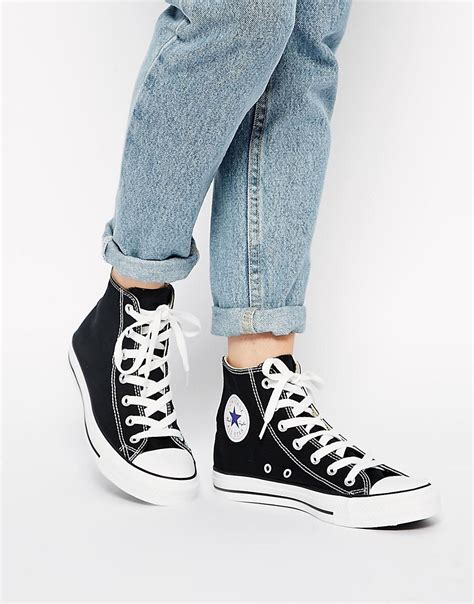 converse all high top sneakers converse converse all high top black sneakers at asos