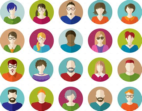 Flat People Icon – free icons