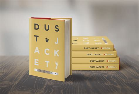 book free book mock up dust jacket edition on behance