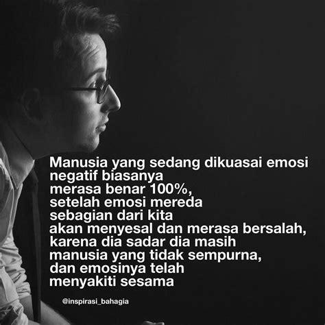quotes tentang emosi kata kata mutiara