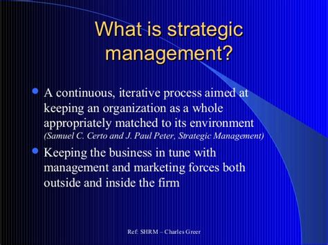What Is An Mba In Strategy by Mba Unit 1 Strategic Management Mfawriting760 Web Fc2