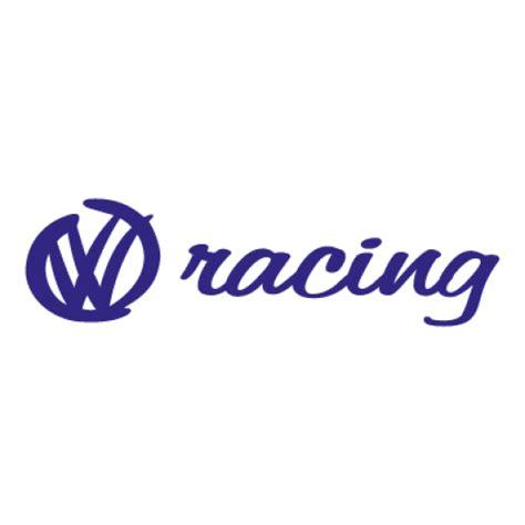 volkswagen racing auto logo vector ai  graphics