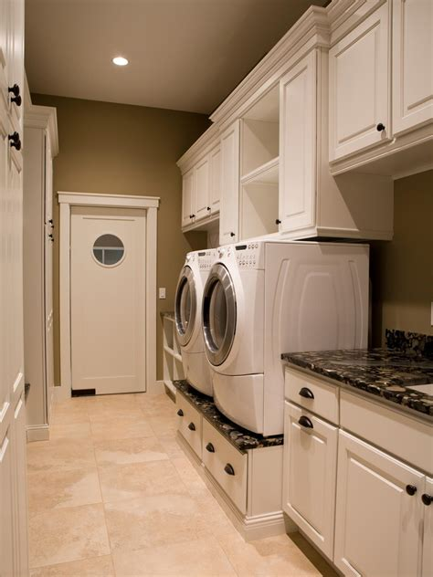 Laundry Unit Design | 10 clever storage ideas for your tiny laundry room hgtv