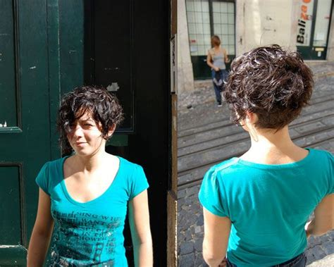 the back if an asymmetrical short curl haircuts 37 modern short hairstyles for thick hair curly