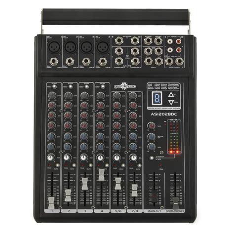 Mixer Di 150w alimentato dsp mixer di gear4music ex demo a