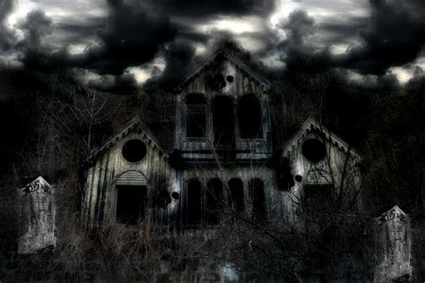 da artjam haunted house by mind illusi0nz on deviantart