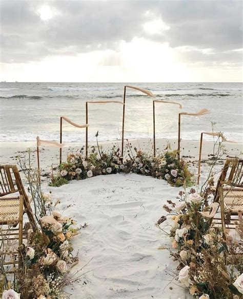 best 25 beach ceremony ideas on pinterest beach