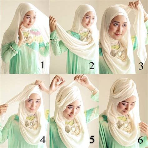 tutorial hijab pashmina pesta simple tutorial hijab ala dian pelangi sikumu
