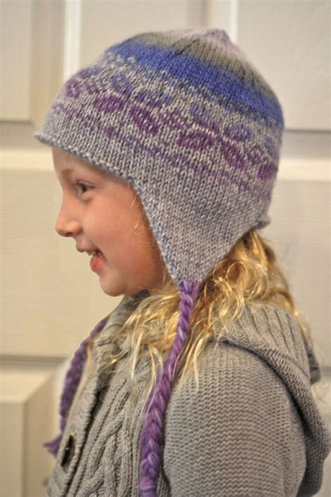 knitting pattern earflap hats for toddlers ear flap hat knit pattern by knitpicks knitting