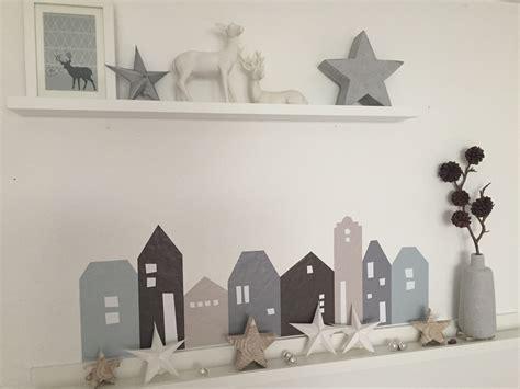 weihnachtsdeko basteln die lille hus im winterlook