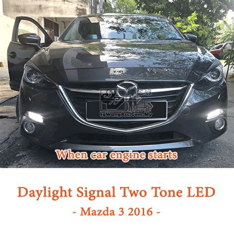 two tone lights two tone led bulb turn signal daytime running light drl