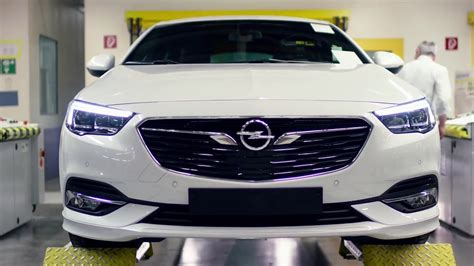 opel productions 2017 opel insignia production