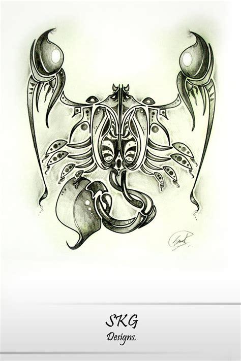 scorpio tattoo design by s k g91 on deviantart
