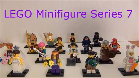Exklusif Lego 8831 Lego Minifigures Series 7 Complete Limited lego 8831 minifigure series 7 complete collection review