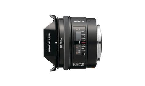 Sony Lens Sal 16mm F2 8 Fish Eye sal16f28 ae buy 16f28 a mount digital lens view