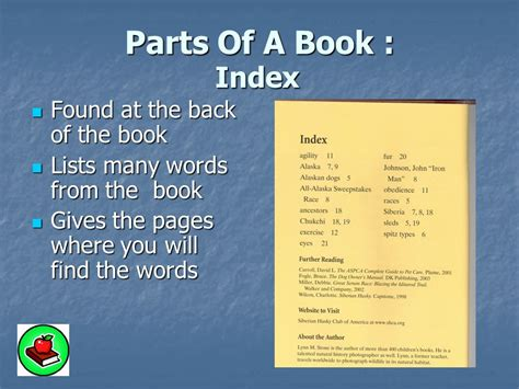 the title the story of the division books a book has many parts grade 3 mrs ramseier ppt