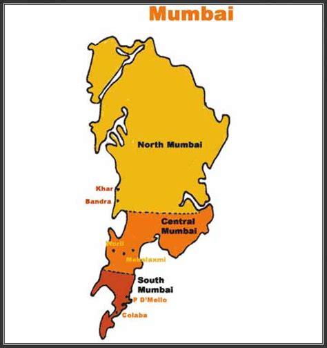 mumbai map image mumbai map