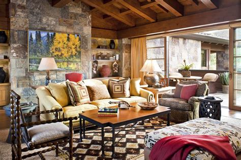 Home Decorating Ideas Photos Living Room by Do Blend Rustic Surfaces 8 Great Lake House Design Ideas