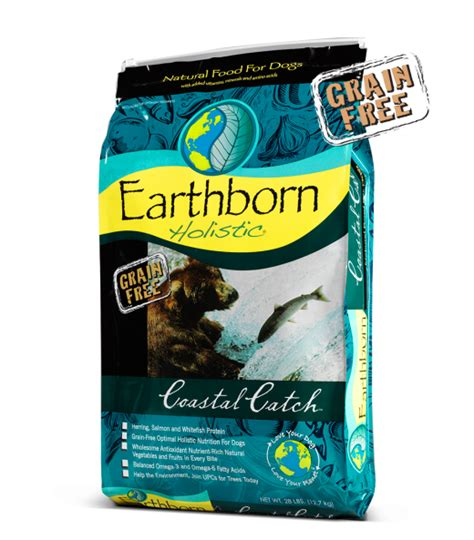 earthbound food coastal catch grain free holistic food formulas earthborn holistic 174 pet food
