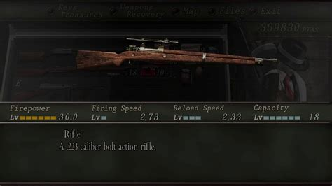 223 Best Images About Evil by Resident Evil 4 Fully Upgraded Weapon Comparisons Rifle A