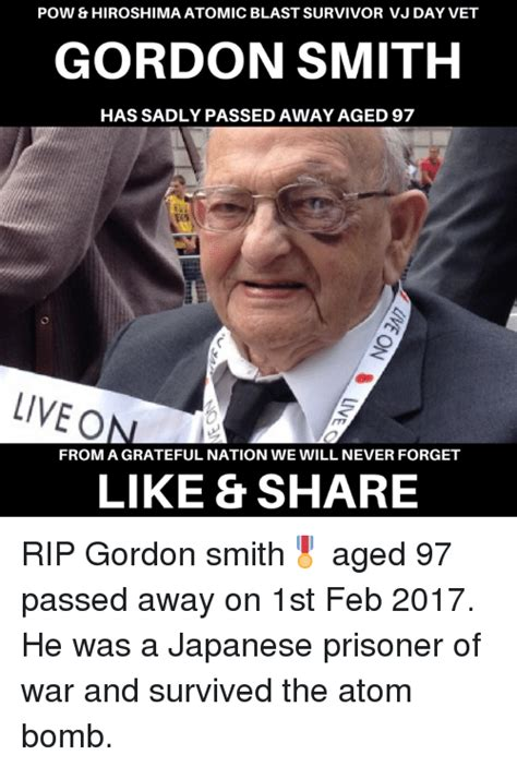 Smith Passes Away by 25 Best Memes About Gordon Smith Gordon Smith Memes