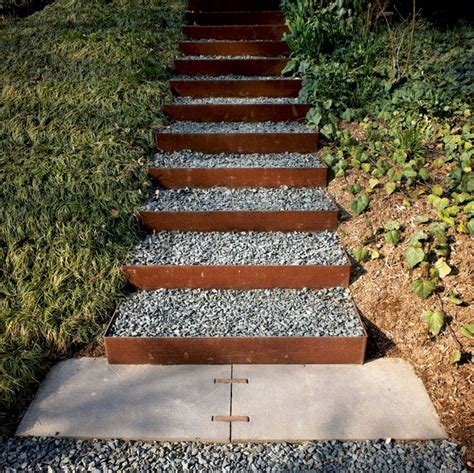 the 2 minute gardener photo landscape timber stairs 34 best steps on slopes images on pinterest exterior