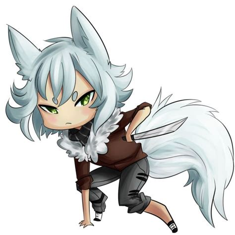 anime chibi wolf 17 images about anime wolf on white hair