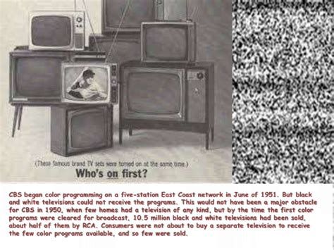 color tv history history of color television comic